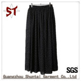 2017 Women Wave Point Medium-Long Style Half-Body Skirt