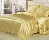 Hotel and Home Top Soft Silk Bed Sheet