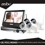 4chs 1080P Wireless NVR Kits WiFi IR CCTV Security IP Camera
