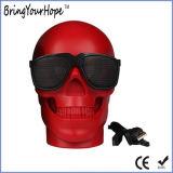Halloween Gift Skull Bluetooth Speaker (XH-PS-687)