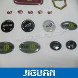 Custom Design Die Cut Weatherproof Custom Crystal Epoxy Dome Sticker