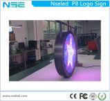 High Brightness LED Store Logo LED Display Sign Round LED Display
