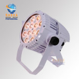 White Case Rasha 12*10W 4in1 RGBW Alumnium LED PAR Light IP65 Waterproof Outdoor LED PAR Can