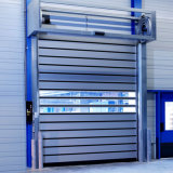 PU Foam Rigid High Speed Industry Rapid Rolling Shutter Door with Remote Control