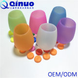 FDA Certification Drinking Glass in Stock Silicone Wine Cup