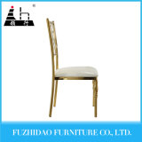 Wedding Hotel Golden Stainless Steel Dining Chair with New Design
