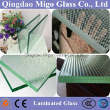 Clear (Tinted) Flat (Curved) Tempered Laminated Safety Building Glass for Railing, Flooring, Curtain Wall