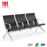 Cheap 3 Seaters PU Airport Chair with Middle Handle