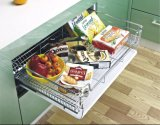 Stainless Steel Rebound Pullout Basket
