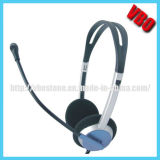 Lightweight Computer Headphone with Mic and Volume Control