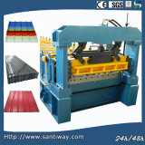 Hydraulc Ibr Roof Sheet Cold Roll Forming Machine Price/PLC Machine