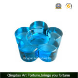 Printed Color Glass Tealight Candle Holder Supplier