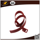 New Design Wholesale Red Women Belts Pure Leather Belt