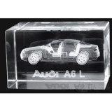 Custom Design Crystal 3D Inner Laser Engraving Cube