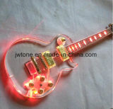 Acrylic Body LED Les Lp Custom Electric Guitar