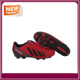 Red Soccer Football Men Women Shoes for Sale (YHF019)
