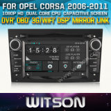Witson Car DVD for Corsa 2006-2011 Car DVD GPS 1080P DSP Capactive Screen WiFi 3G Front DVR Camera