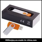 Promotional Swivel USB Flash Drive Memory with Custom Logo (USB001)