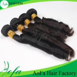 Cheap Brazillian Hair Long Natural Black Virgin Curl Hair