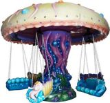Kiddie Ride Jellyfish Flying Chairs (NC-OR42)