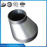 Lost Wax Casting Aluminum Straight Pipe Joint with CNC Machining