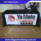 Full Color Printed Custom Polyester Promotional Table Cloth for Advertising