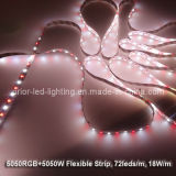 LED5050 Strip RGBW (Red+White) 72-LED/M