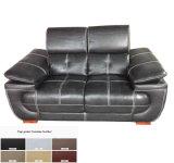 Black Modern Sofa, Leather Sofa Furniture (C40)