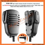 Portable Microphone for Motorola Talkabout Radios Single Pin