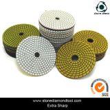 4 Inch Diamond Flexible Resin Wet Polishing Pads