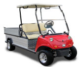 Electric Utility Cargo Vehicle with Flat Bed