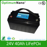 24V 40ah LiFePO4 Solar Street Light Battery