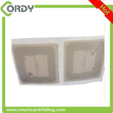 50*50mm paper label ISO15693 ICODE SLIX RFID Library Book Tag