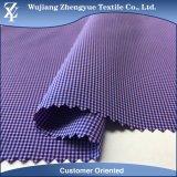 Polyester Nylon Spandex Checkered Plaid 4 Way Stretch Garment Fabric