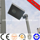 Performance Small LED Solar Street Light All in One 12V 25W Outdoor IP65 Integrated Solar LED Street Light