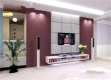 Multi-Colors Silk Screen Printed Tempered Glass Wall TV Home Decoration Glass for TV Background