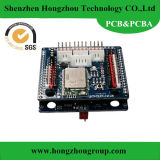 PCBA, PCB Assembly with Blue Soldermask