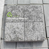 China Natural Blue Stone Flamed & Acid-Washing Finished Paver for Outside Paving