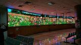 China Manufacturers Indoor Advertising Curved Big LED Display