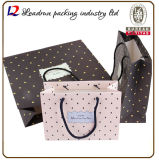 Kraft Paper Shopping Gift Bag Hand Promotional Coated Art Paper Carrier Print Packing Bag (a104)