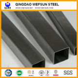Factory Support Q235 Material Black Square Pipe in Stock