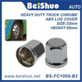 33mm/32mm Truck Nuts Cover with Chrome ABS