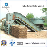 Automatic Horizontal Hydraulic Straw Hay Baler with Conveyor