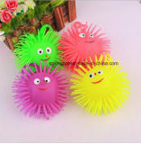 Kids Toy with Flash Rainbow Ball Long Nose Smiling Face