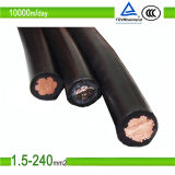 TUV Approved PV1-F 1X16mm2 Solar Cable for Photovoltaic Panel System