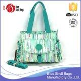 2016 New Design Colorful Stripe Printing Lady Handbags
