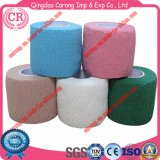 Certificated Non Woven Colorful Self Adhesive Elastic Bandage