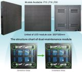Front Access LED Module 320*320mm, P6.67, P8, P10, P13.33, P16, P20