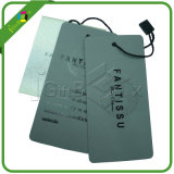Printing Logo One Side Printed 300GSM Garment Tag