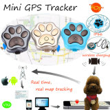 IP66 Waterproof Pets GPS Tracker with Wireless Charging (V32)
